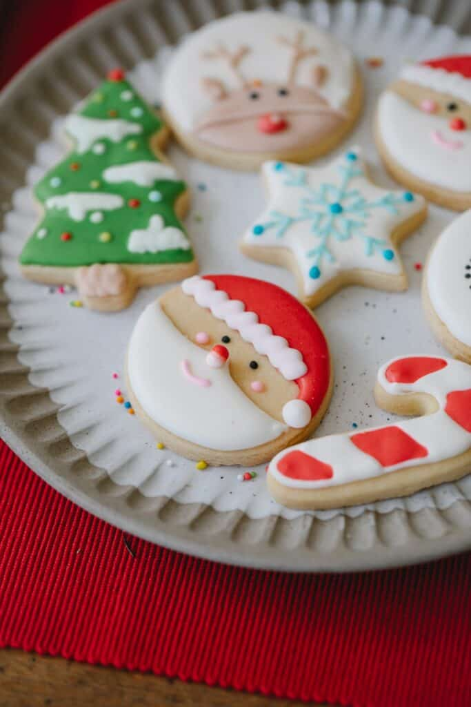 cute holiday cookies and sweets